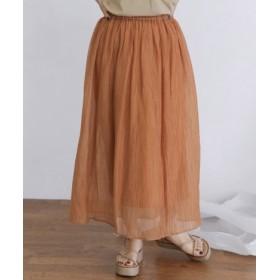KBF(ケービーエフ) スカート スカート シアーギャザースカート