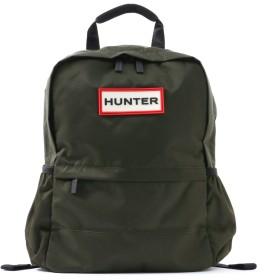 HUNTER HUNTER/ハンター ORIGINAL NYLON BACKPACK リュック・バッグパック,ダークオリーブ