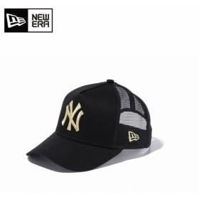 ニューエラ NEW ERA キャップ 帽子 ジュニア 9FORTY フォーティ A-Frame フレーム トラッカー ニューヨーク・ヤンキース 11433931