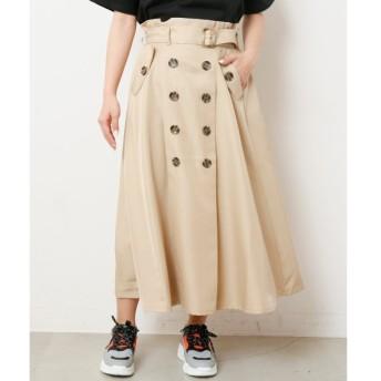 [マルイ]【セール】配色トレンチスカート/レイカズン(RAY CASSIN)