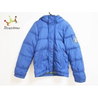 アバクロンビーアンドフィッチ ダウンジャケット サイズXL メンズ ブルー 冬物 新着 20190408