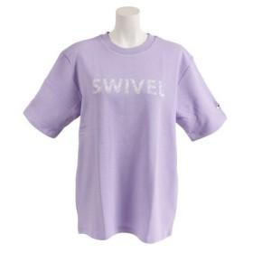 スウィベル(Swivel) THICK RUBBER プリントTシャツ 870SW9CD6426 PUL (Lady's)