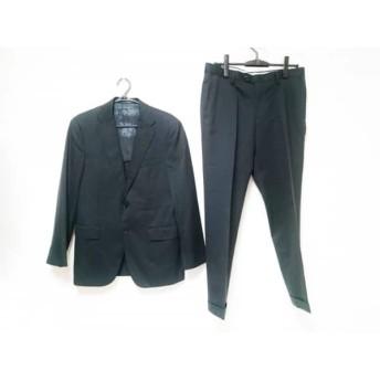 【中古】 グリーンレーベルリラクシング green label relaxing シングルスーツ サイズ84 メンズ 黒