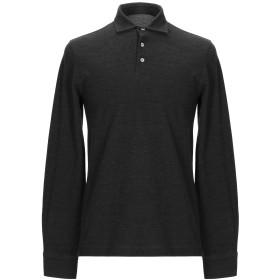 《期間限定セール開催中!》CIRCOLO 1901 メンズ ポロシャツ スチールグレー M ウール 53% / コットン 47%