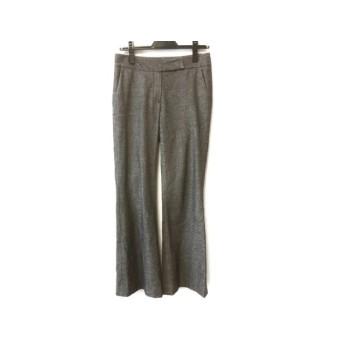 【中古】 セオリー theory パンツ サイズ0 XS レディース 美品 グレー