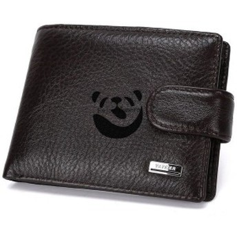 二つ折り財布メンズ財布二つ折り2つ折りメンズ財布小銭入れコインケースbox型BOX型短財布札入れカードポケットカード革さいふサイ