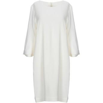 《セール開催中》L' AUTRE CHOSE レディース ミニワンピース&ドレス ホワイト 42 98% レーヨン 2% ポリウレタン