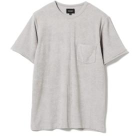 BEAMS / パイル クルーネック Tシャツ メンズ Tシャツ LT. GREY XL