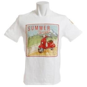 エグジビット(EXIBIT) 半袖Tシャツ MG23C477 White (Men's)