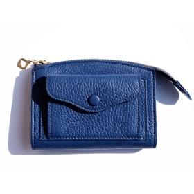 partiality store by YORK. Brick /スモールウォレット コインケース/札入れ,ブルー