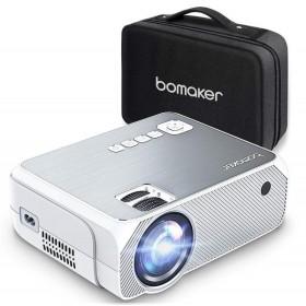 BOMAKER プロジェクター 小型 3600ルーメン ホームシアター 1080PフルHD対応 スマホ・PS3・PS4・XBOX・ブルーレイプレイヤーなどに対応