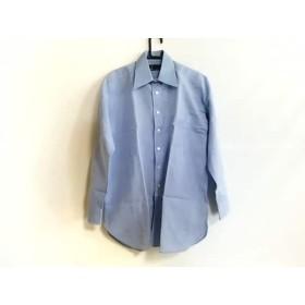 【中古】 ダンヒル dunhill/ALFREDDUNHILL 長袖シャツ サイズ30 メンズ 美品 ライトブルー