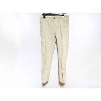 【中古】 インコテックス INCOTEX パンツ サイズ31 メンズ 美品 アイボリー コーデュロイ