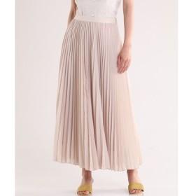 INED / シャイニープリーツロングスカート