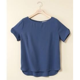 袖かぶせデザイン前後差着丈ブラウス【stairs】 (大きいサイズレディース) plus size shirts, 衫, 襯衫