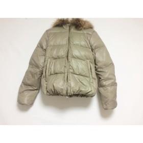 【中古】 デュベティカ DUVETICA ダウンジャケット サイズ40 M レディース Adhara ライトグレー 冬物