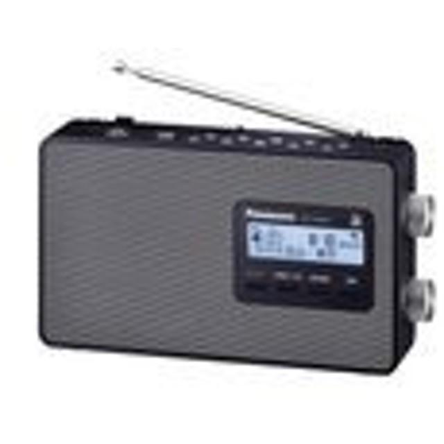 RF-U180TV-K (ブラック)パナソニック ラジオ FM/AM/ワンセグTV音声 3バンド ワイドFM対応