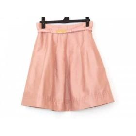【中古】 ナラカミーチェ NARACAMICIE スカート サイズ1 S レディース ピンク