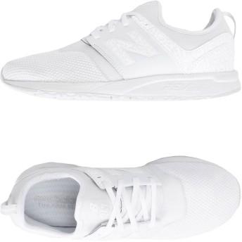 《期間限定セール開催中!》NEW BALANCE レディース スニーカー&テニスシューズ(ローカット) ホワイト 9 紡績繊維 247 WHITE REFLECTIVE PACK