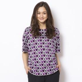 [マルイ]【セール】コットン北欧調プリントオーバーサイズTシャツ/ピサーノ(PISANO)