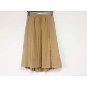 【中古】 ドレステリア DRESSTERIOR スカート サイズ36 S レディース ブラウン