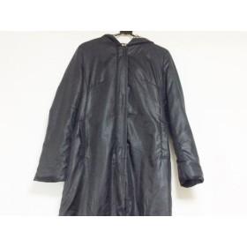 【中古】 バーバリーブルーレーベル Burberry Blue Label ダウンコート サイズ38 M レディース 黒 冬物