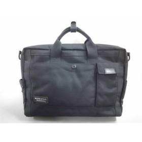 【中古】 マンハッタンパッセージ MANHATTAN PASSAGE ビジネスバッグ 美品 黒 ナイロン