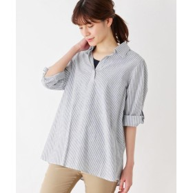 SHOO・LA・RUE(シューラルー) ◆【らくリネン・2点セット】綿麻スキッパーシャツ+タンクトップ