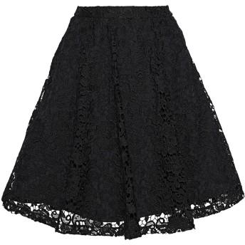 《セール開催中》ALICE + OLIVIA レディース ひざ丈スカート ブラック 10 ポリエステル 100%