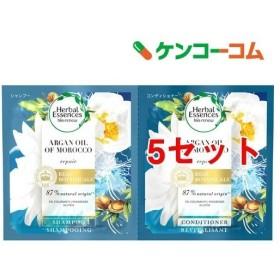 ハーバルエッセンス ビオリニューモロッカンオイル シャンプー コンディショナー ( 5セット )/ ハーバルエッセンス(Herbal Essences)