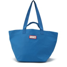 HUNTER HUNTER/ハンター ORIG LWEIGHT RUBBERISED TOTE トートバッグ,ブルー