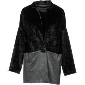 《期間限定 セール開催中》MICHELA MII レディース テーラードジャケット ブラック S ポリエステル 100% / レーヨン / Lurex / ポリウレタン