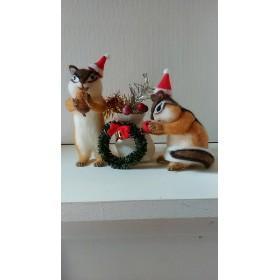 森の村のクリスマス シマリスの兄弟
