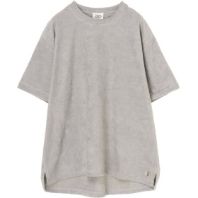 THING FABRICS TF T-Shirt Short Pile Tシャツ・カットソー,Light Grey