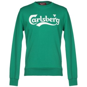 《期間限定セール開催中!》CARLSBERG メンズ スウェットシャツ グリーン M コットン 100%