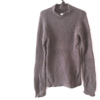 【中古】 アニエスベー agnes b 長袖セーター サイズ1 S メンズ グレー ハイネック/homme