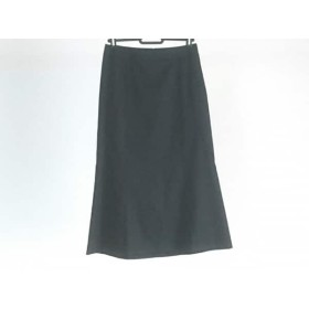 【中古】 バーバリーロンドン Burberry LONDON ロングスカート サイズ36 M レディース 黒