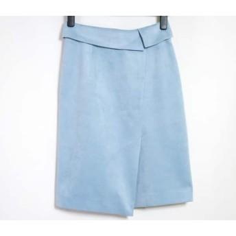 【中古】 ジャスグリッティー JUSGLITTY スカート サイズ0 XS レディース ブルー