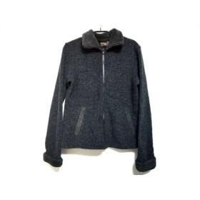 【中古】 フェンディ FENDI jeans ブルゾン サイズI 44 メンズ ダークグレー ジップアップ/春・秋物