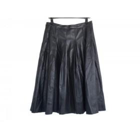 【中古】 ヒステリックグラマー HYSTERIC GLAMOUR スカート サイズS レディース ダークブラウン プリーツ