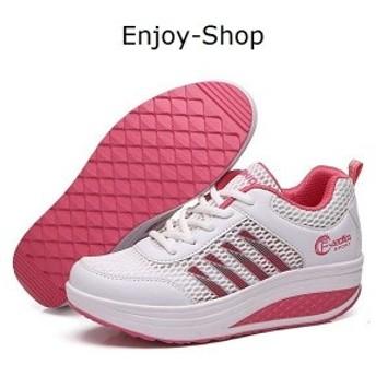 スニーカーダイエット女性キャンプ厚底レースアップシューズウォーキングランニングエアソール歩行姿勢調整矯正靴疲れないシューズ