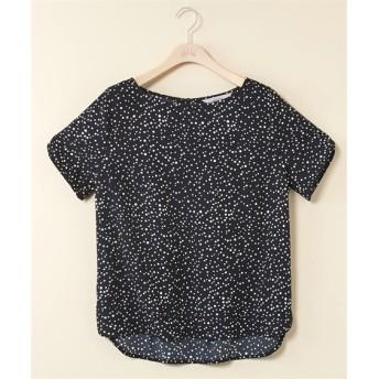 【大きいサイズ】 袖かぶせデザイン前後差着丈ブラウス【stairs】  plus size shirts, テレワーク, 在宅, リモート
