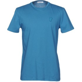 《期間限定 セール開催中》VERSACE COLLECTION メンズ T シャツ ディープジェード S 100% コットン