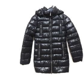 【中古】 アレグリ allegri ダウンコート サイズ38 M レディース 黒 冬物