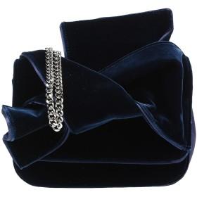 《期間限定セール中》N°21 レディース メッセンジャーバッグ ダークブルー 紡績繊維