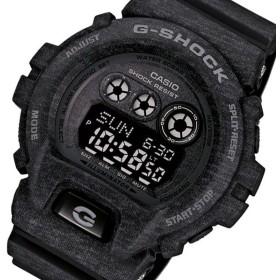 カシオ Gショック ヘザードカラーシリーズ メンズ 腕時計 GD-X6900HT-1 ブラック ブラック