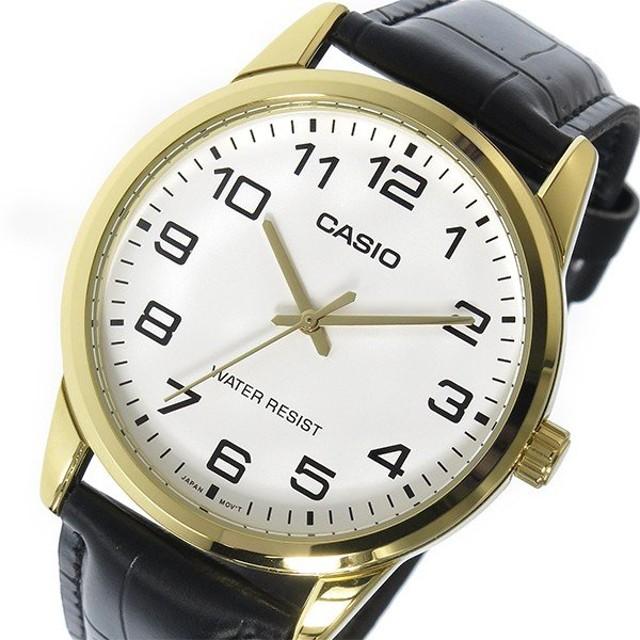 カシオ CASIO ベーシック クオーツ メンズ 腕時計 MTP-V001GL-7B ホワイト ホワイト