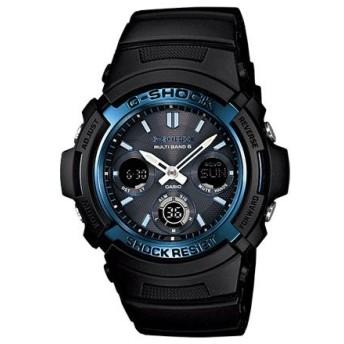 カシオ CASIO Gショック スタンダード 電波タフソーラー 腕時計 AWG-M100A-1AJF 国内正規 ブラック