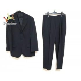 リーガル REGAL シングルスーツ サイズ94A6 メンズ ダークグレー ネーム刺繍/2パンツ   スペシャル特価 20190706