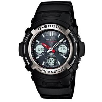 カシオ CASIO Gショック スタンダード 電波タフソーラー 腕時計 AWG-M100-1AJF 国内正規 ブラック
